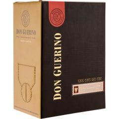 Vinho Don Guerino Cabernet/Merlot/Tannat Tinto Seco Bag in Box 5 Litros
