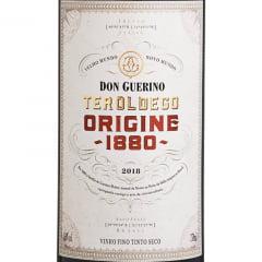 Vinho Don Guerino Reserva Teroldego Origine 1880 Tinto 750ml