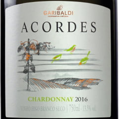 Vinho Garibaldi Acordes Reserva Chardonnay Branco 750ml