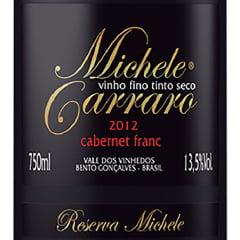Vinho Michele Carraro Cabernet Franc Tinto Seco 750ml