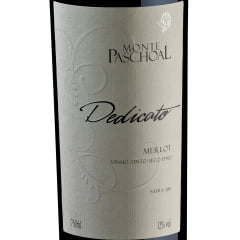 Vinho Monte Paschoal Dedicato Merlot Tinto 750ml