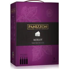 Vinho Panizzon Merlot Tinto Seco Bag in Box 3L