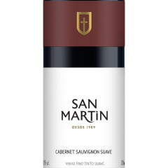 Vinho Panizzon San Martin Cabernet Sauvignon Tinto Suave 750ml
