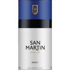 Vinho Panizzon San Martin Merlot Tinto 750ml