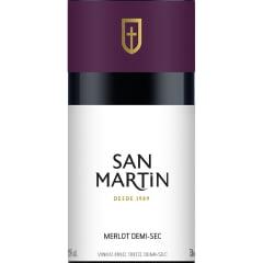 Vinho Panizzon San Martin Merlot Tinto Demi-Sec 750ml