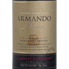 Vinho Peterlongo Armando Memória Cabernet Sauvignon Tinto 750ml