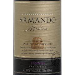 Vinho Peterlongo Armando Memória Tannat Tinto 750ml