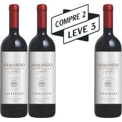 Vinho Peterlongo Armando Winemaker Signature Teroldego Tinto 750ml - COMPRE 2 LEVE 3