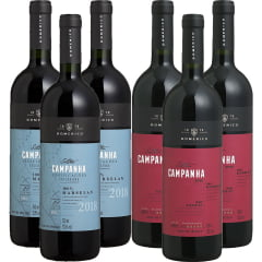 Vinho Salton Campanha Marselan/Tannat e Marselan Tinto 750ml C/6