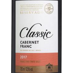 Vinho Salton Classic Cabernet Franc Tinto Seco 750ml