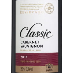 Vinho Salton Classic Cabernet Sauvignon Tinto 750ml