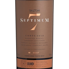 Vinho Salton Septimum Safra 2018 Tinto Seco 750ml