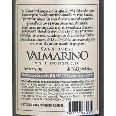 Vinho Valmarino Sangiovese Tinto Seco 750ml