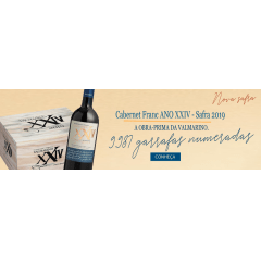 Vinho Valmarino XXIV Cabernet Franc Safra 2019 Tinto Seco 750ml