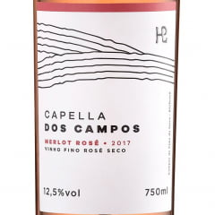 Vinho Capella dos Campos Merlot Rosé 750ml