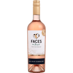 Vinho Lidio Carraro Faces do Brasil Pinot Noir Rosé 750ml