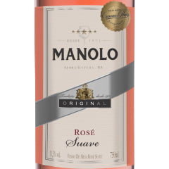 Vinho Peterlongo Manolo Rosé Suave 750ml