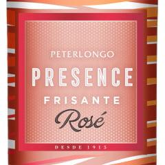 Vinho Peterlongo Presence Frisante Rosé Suave 750ml