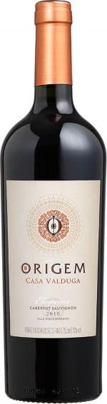 Vinho Casa Valduga Origem Cabernet Sauvignon Tinto Demi-Sec 750ml