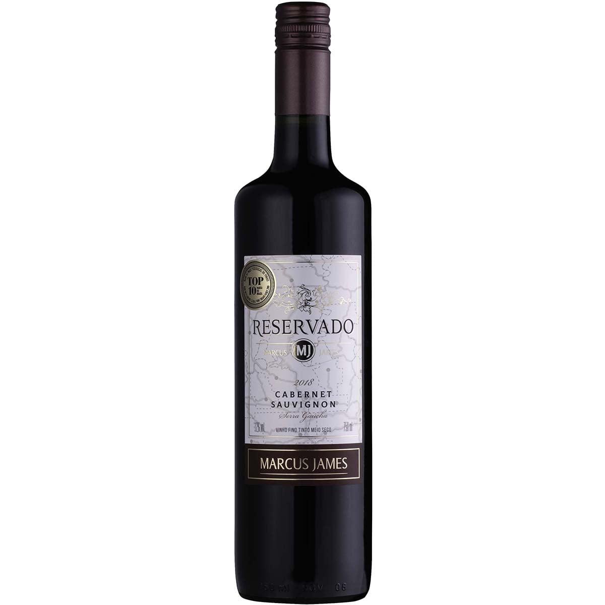 Vinho Aurora Marcus James Cabernet Sauvignon Tinto Meio Seco 750ml
