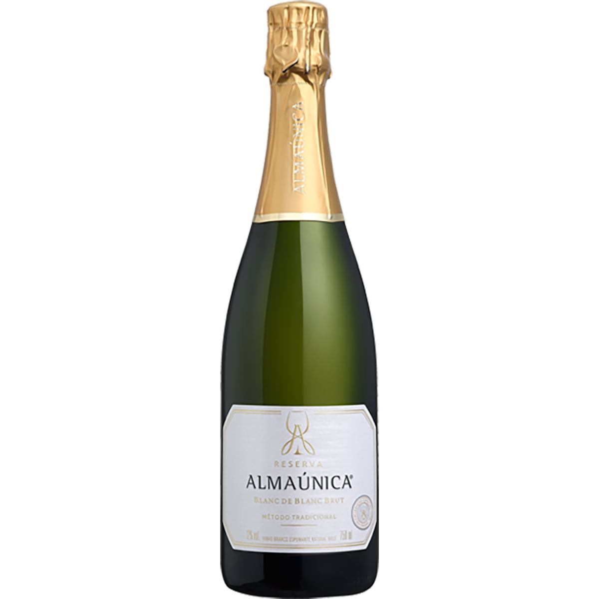 Espumante Almaúnica Brut 100% Chardonnay 750ml
