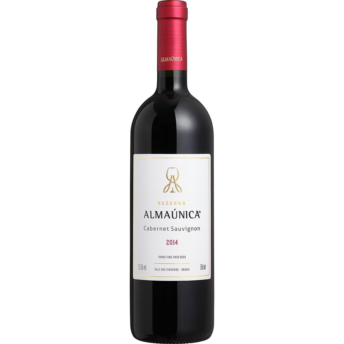 Vinho Almaúnica Reserva Cabernet Sauvignon Tinto Seco 750ml
