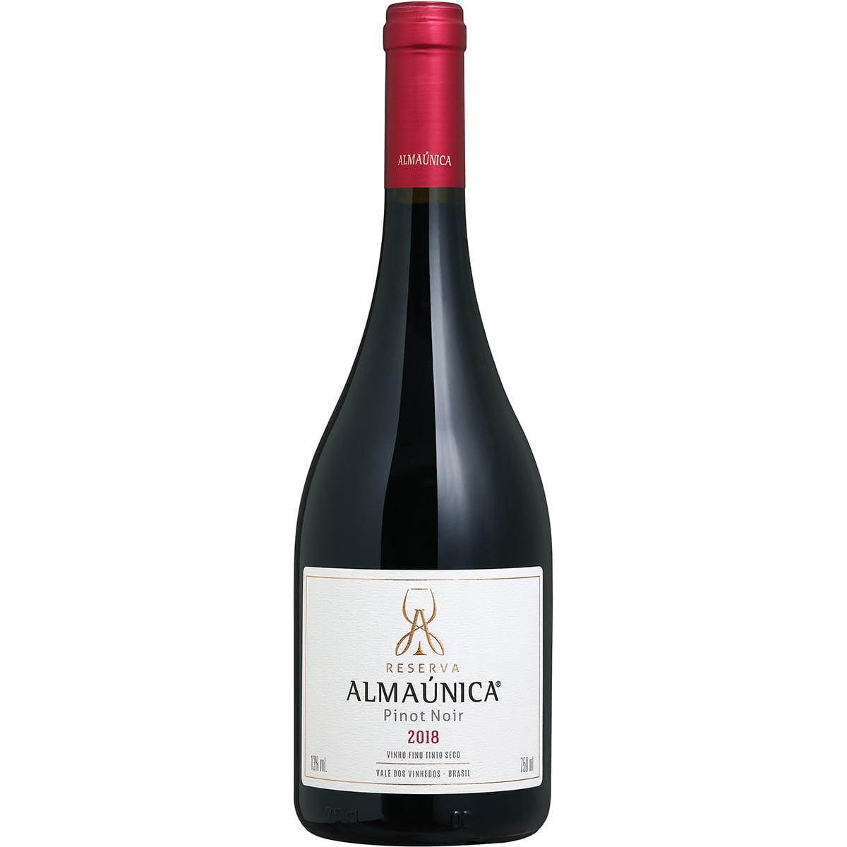 Vinho Almaúnica Reserva Pinot Noir Tinto 750ml