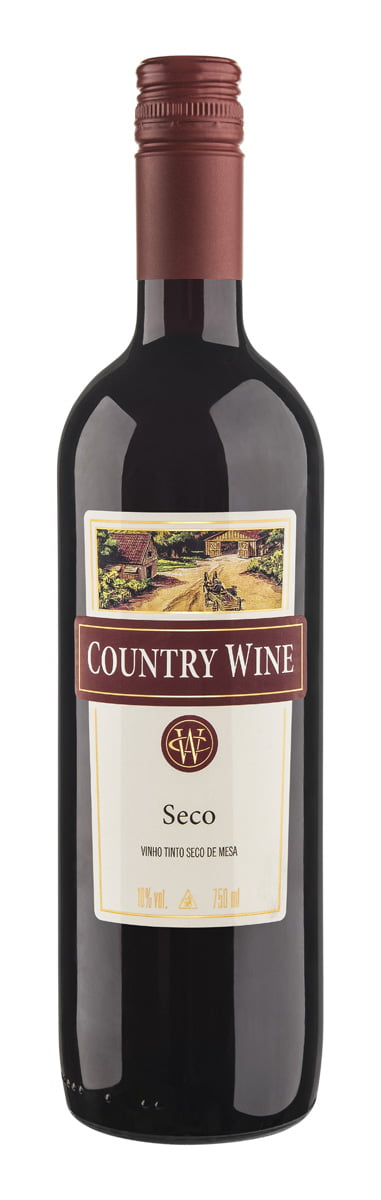 Vinho Aurora Country Wine Tinto Seco 750ml