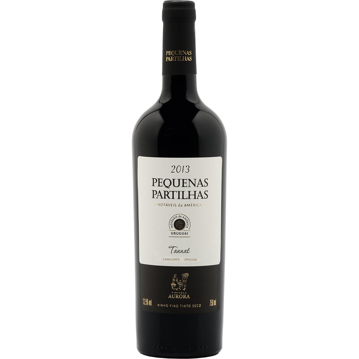 Vinho Aurora Pequenas Partilhas Notáveis da América Uruguai Tannat Tinto 750ml