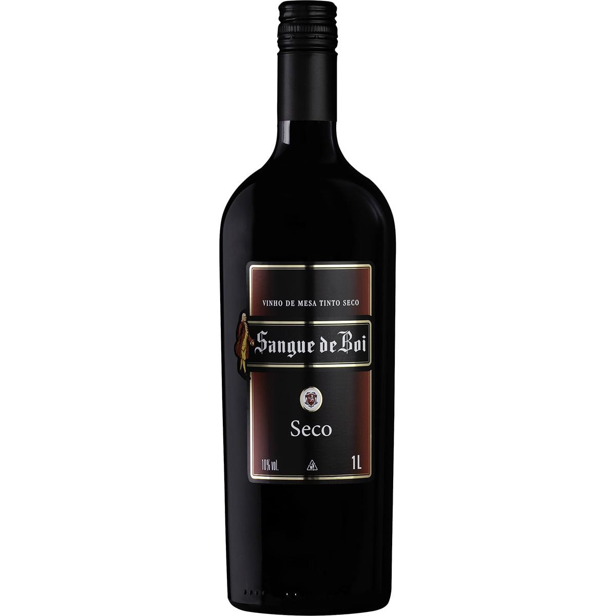 Vinho Aurora Sangue de Boi Tinto Seco 1Lt