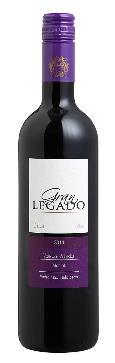 Vinho Gran Legado Merlot Tinto 750ml