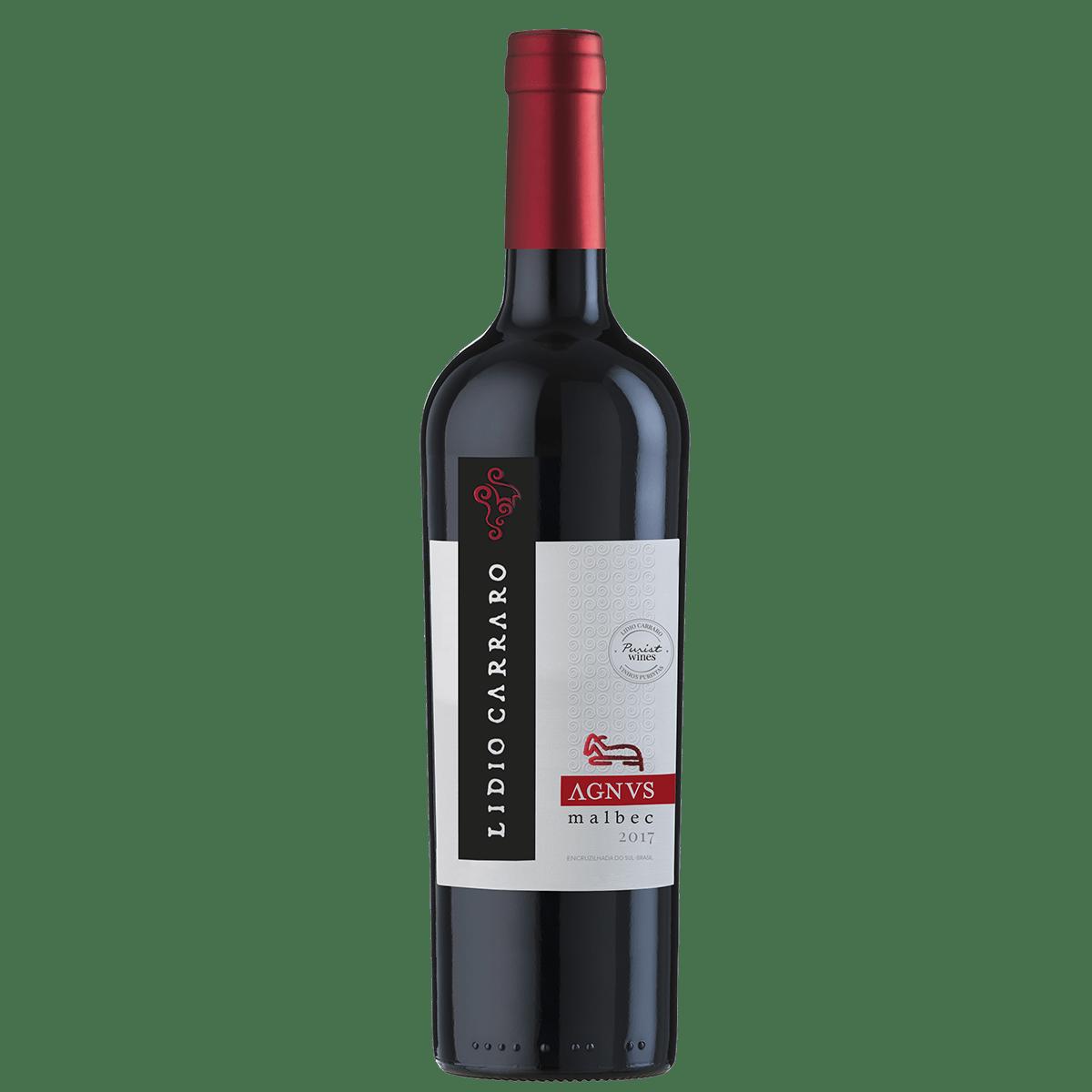 Vinho Lidio Carraro Agnus Malbec Tinto Seco 750ml