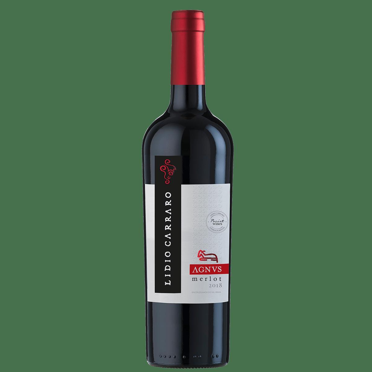 Vinho Lidio Carraro Agnus Merlot Tinto 750ml