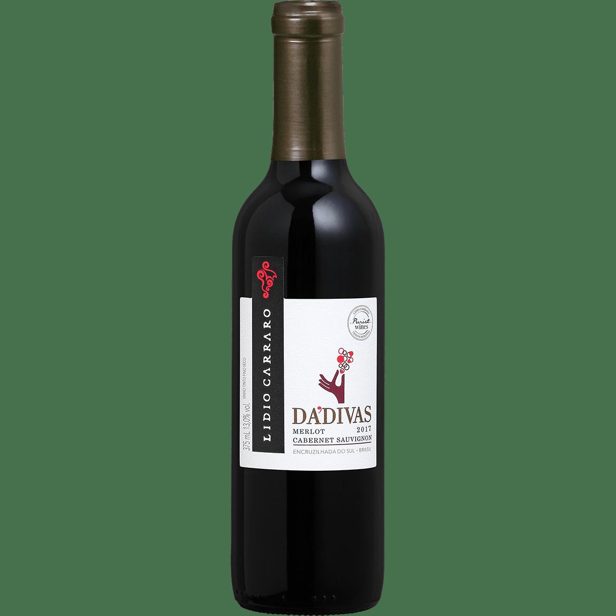 Vinho Lidio Carraro Dádivas Merlot/Cabernet Sauvignon 2017 375ml