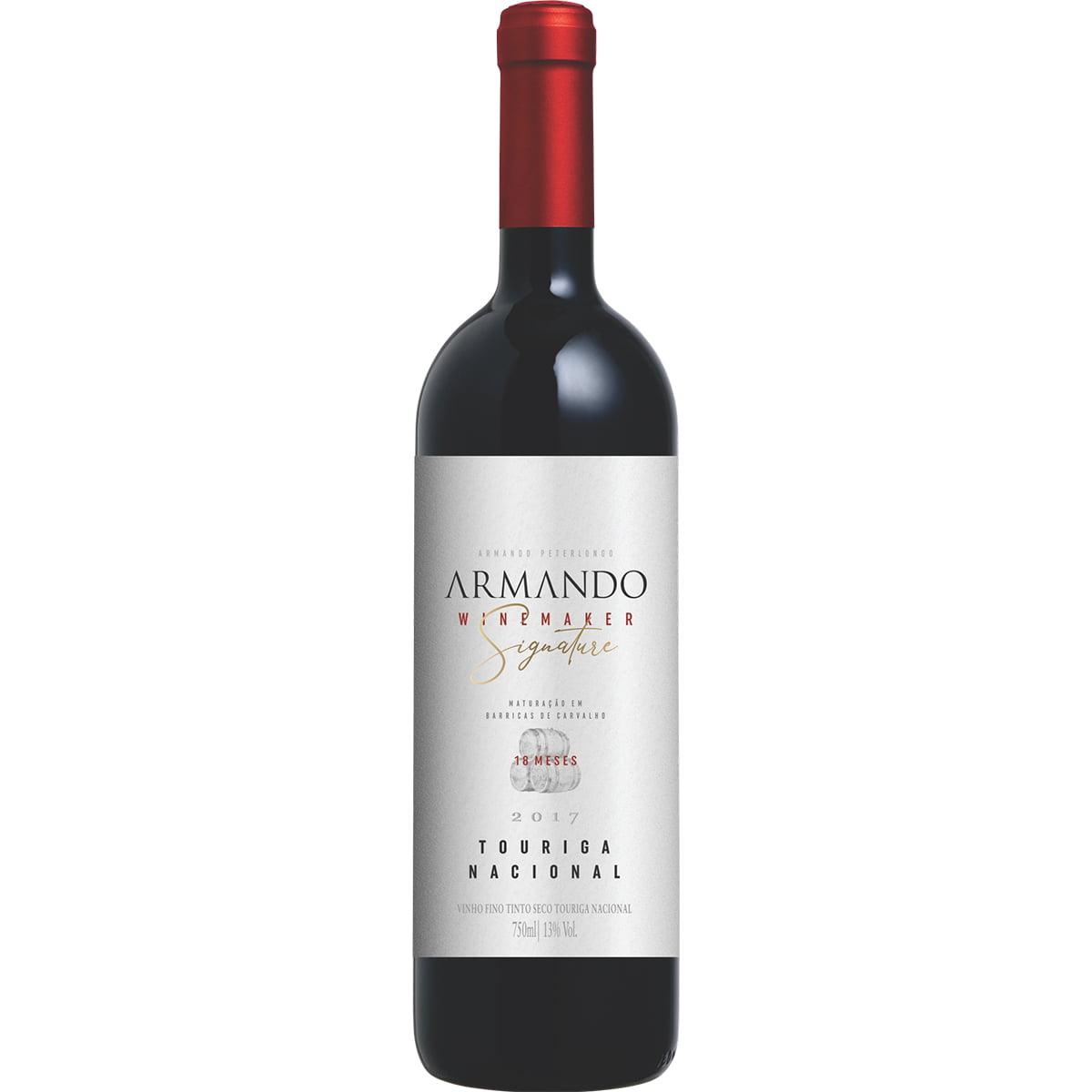 Vinho Peterlongo Armando Winemaker Signature Touriga Nacional Tinto 750ml