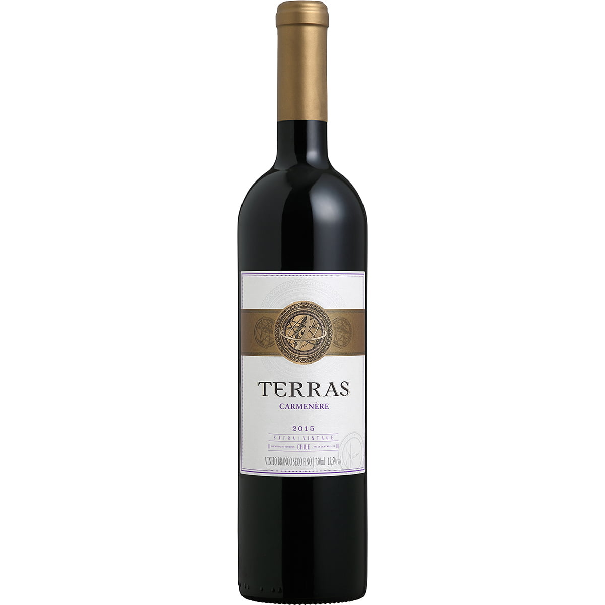 Vinho Peterlongo Terras Carménère Tinto Seco 750ml