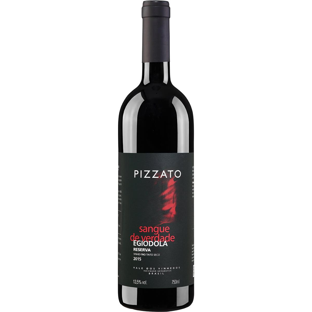 Vinho Pizzato Reserva Egiodola Tinto Seco 750ml