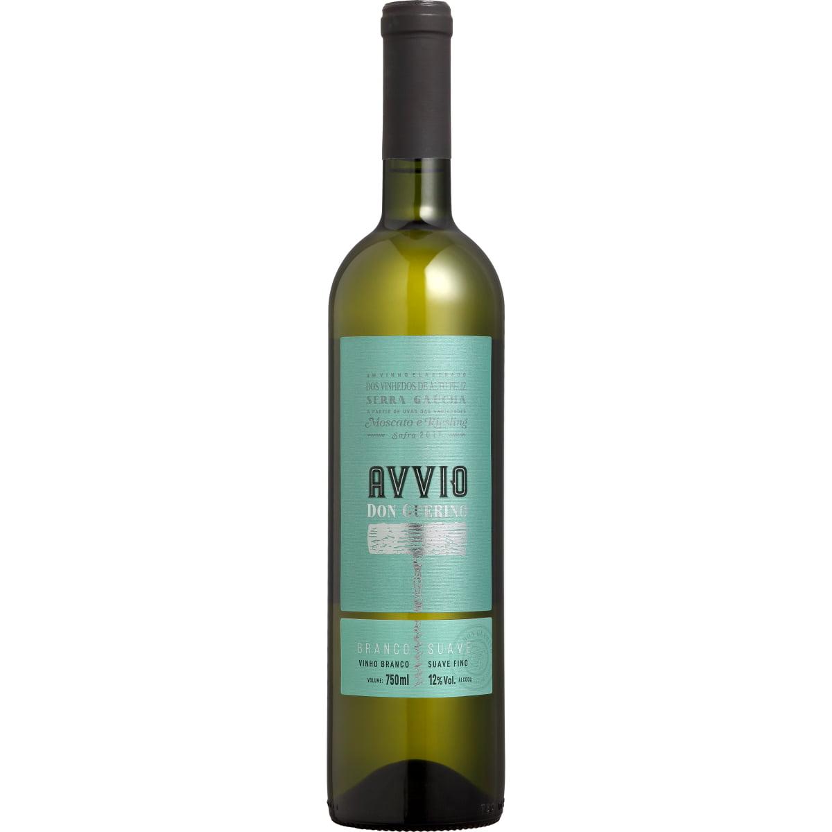 Vinho Don Guerino Avvio Moscato/Riesling Branco Suave 750ml