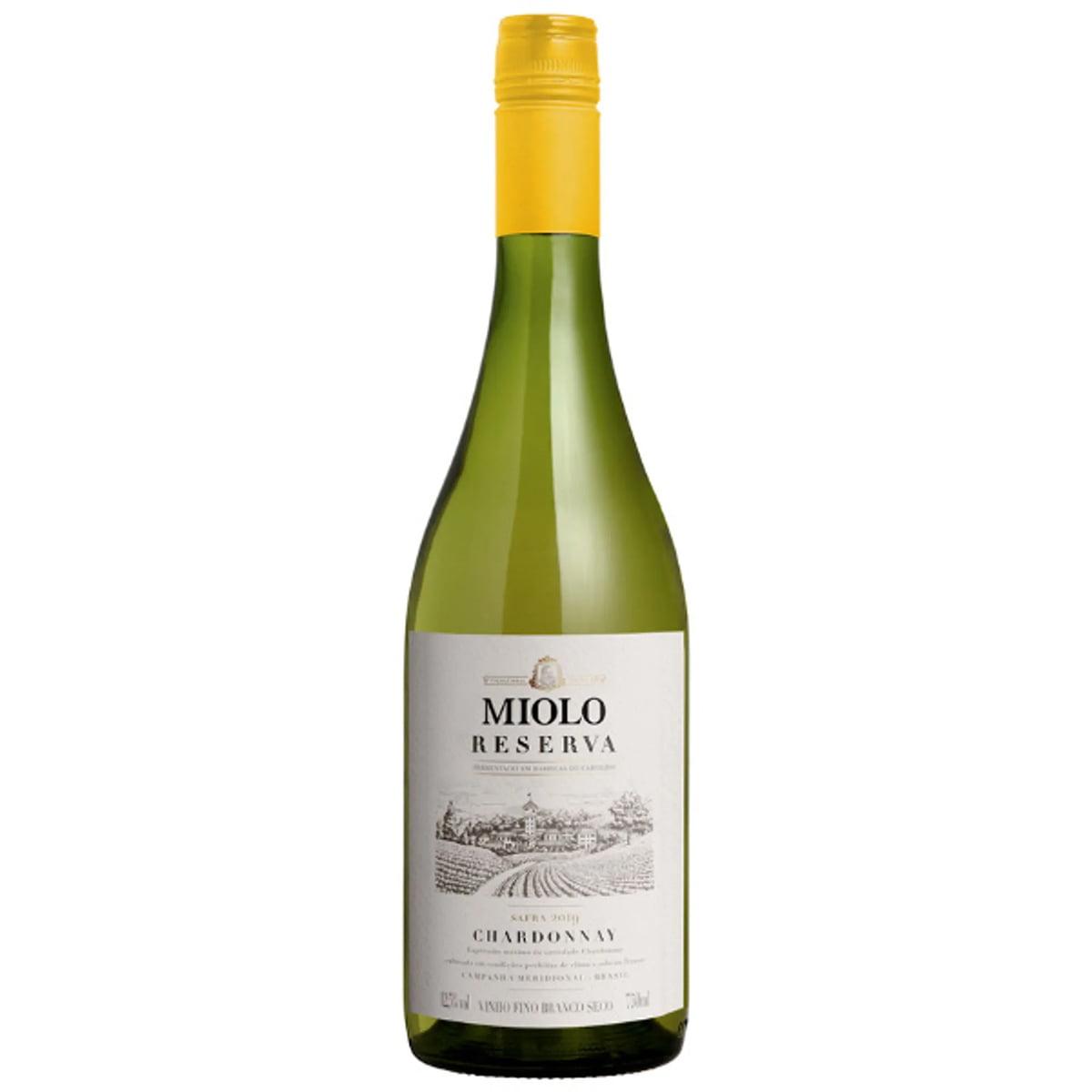 Vinho Miolo Reserva Chardonnay Branco Seco 750ml