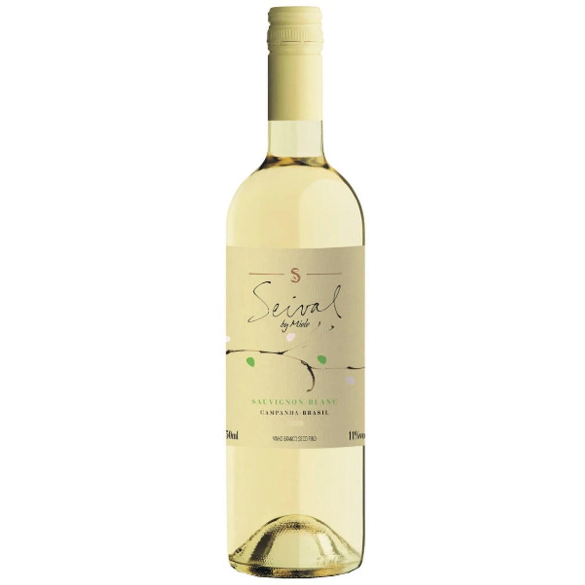 Vinho Miolo Seival Sauvignon Blanc Branco Seco 750ml