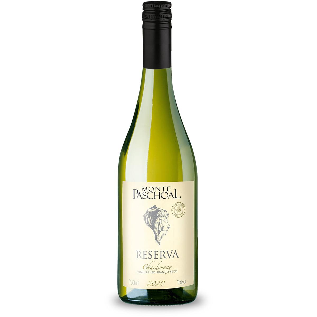 Vinho Monte Paschoal Reserva Chardonnay Branco Seco 750ml