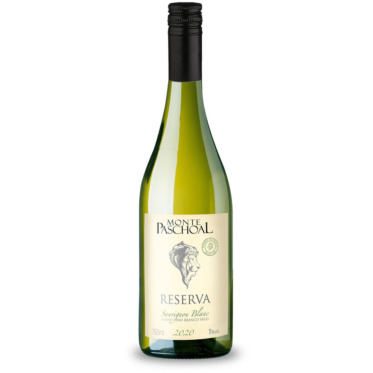 Vinho Monte Paschoal Reserva Sauvignon Blanc Branco Seco 750ml