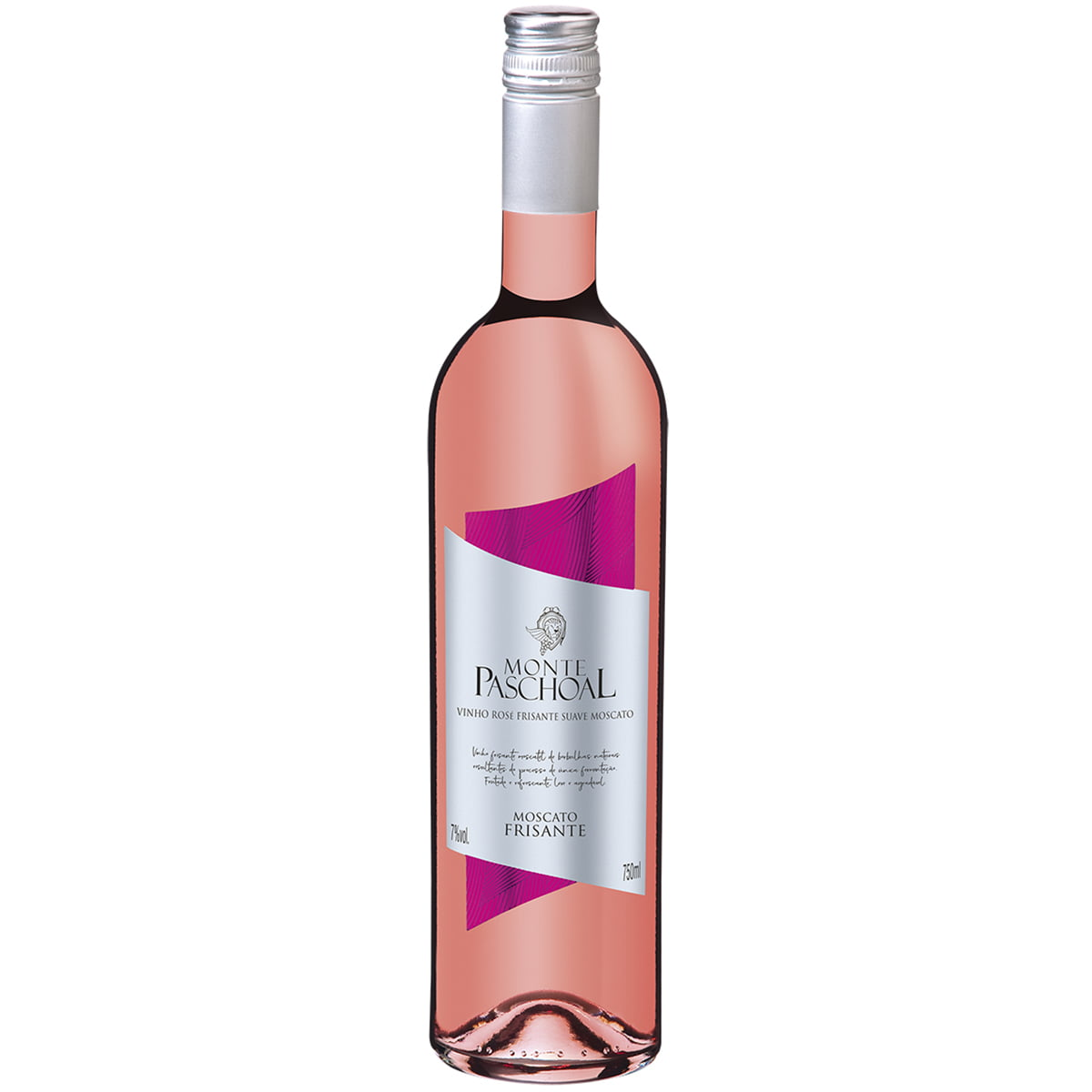 Vinho Monte Paschoal Frisante Moscato Rosé Suave 750ml