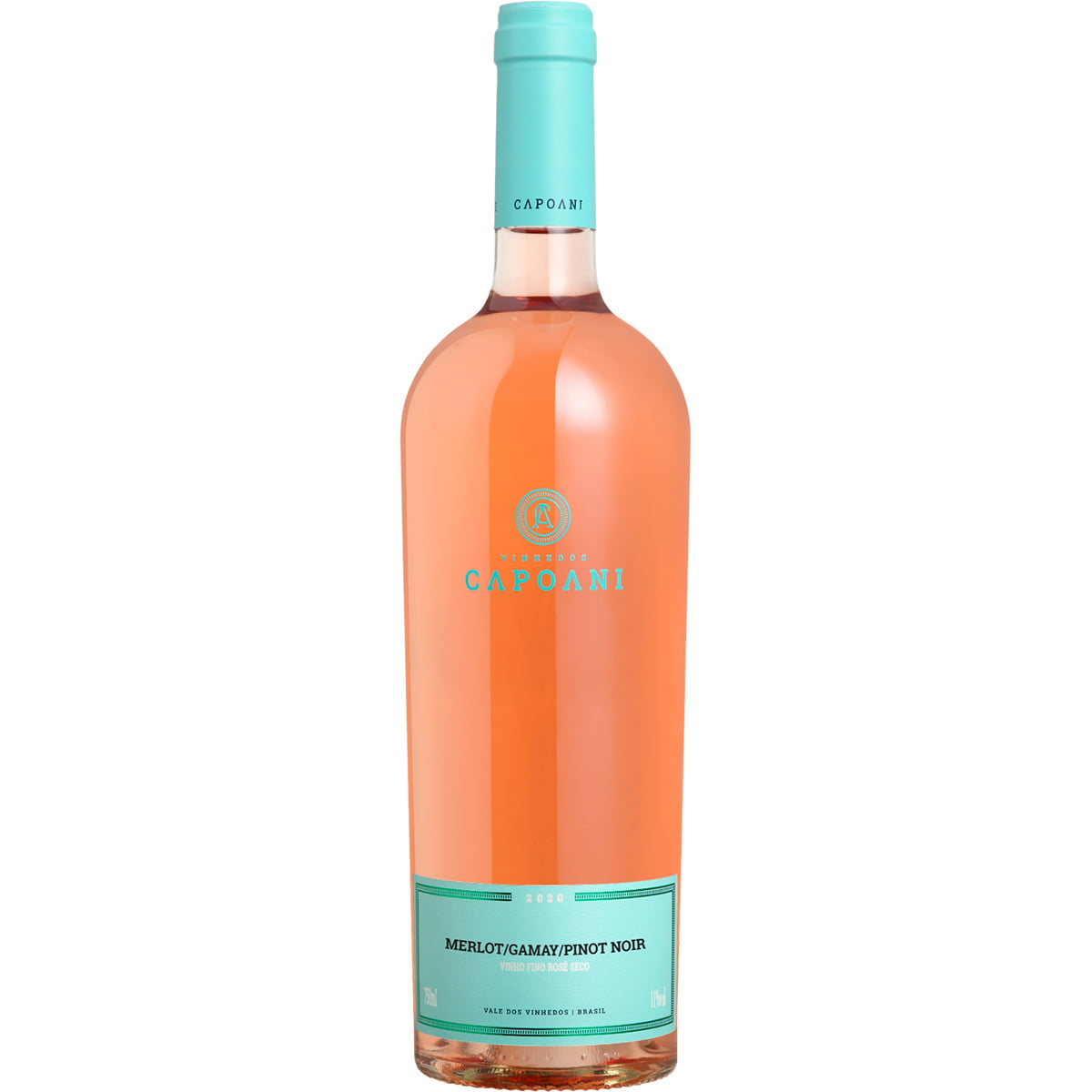 Vinho Capoani Merlot/Gamay/Pinot Noir Rosé Seco 750ml