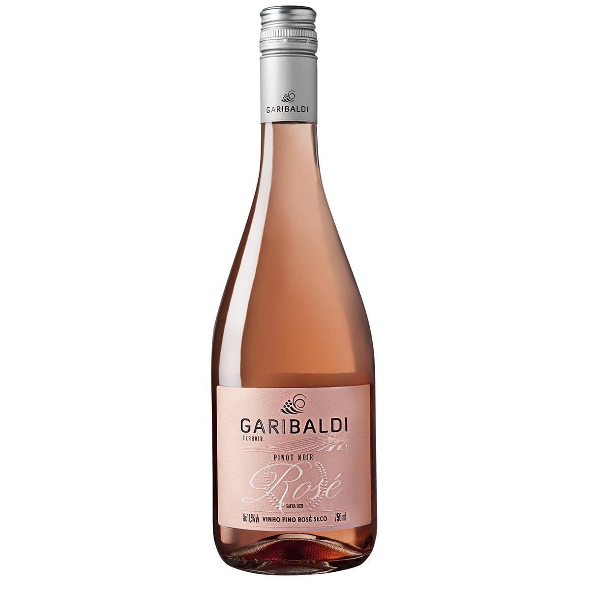 Vinho Garibaldi Terroir Pinot Noir Rosé Seco 750ml