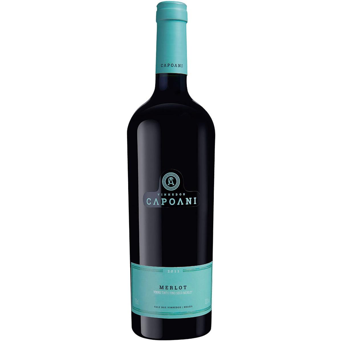 Vinho Capoani Merlot Tinto Seco 750ml