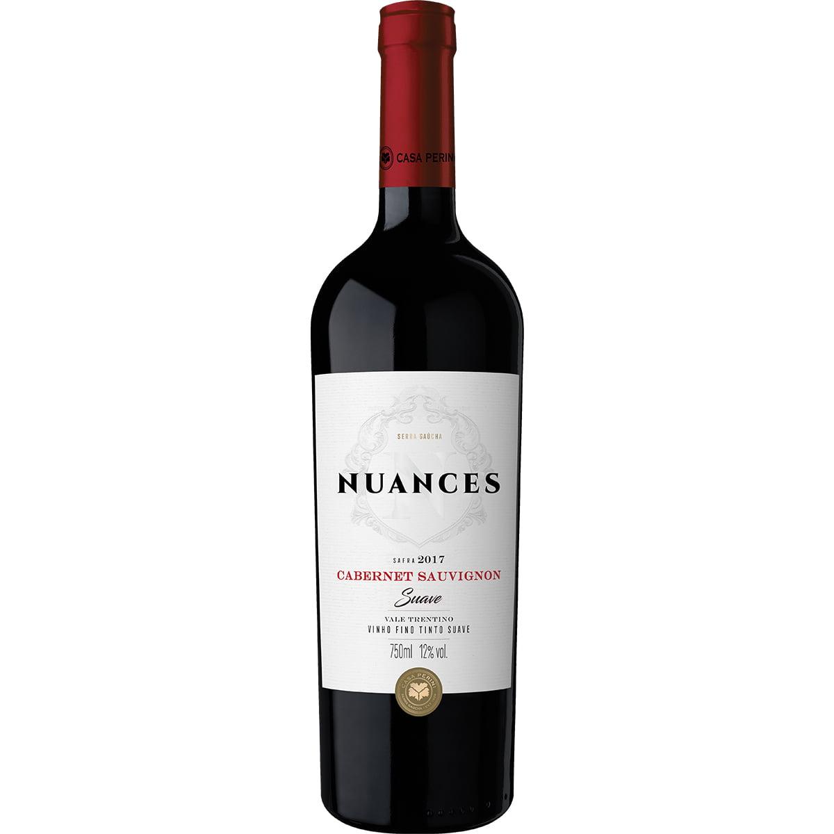 Vinho Casa Perini Nuances Cabernet Sauvignon Tinto Suave 750ml