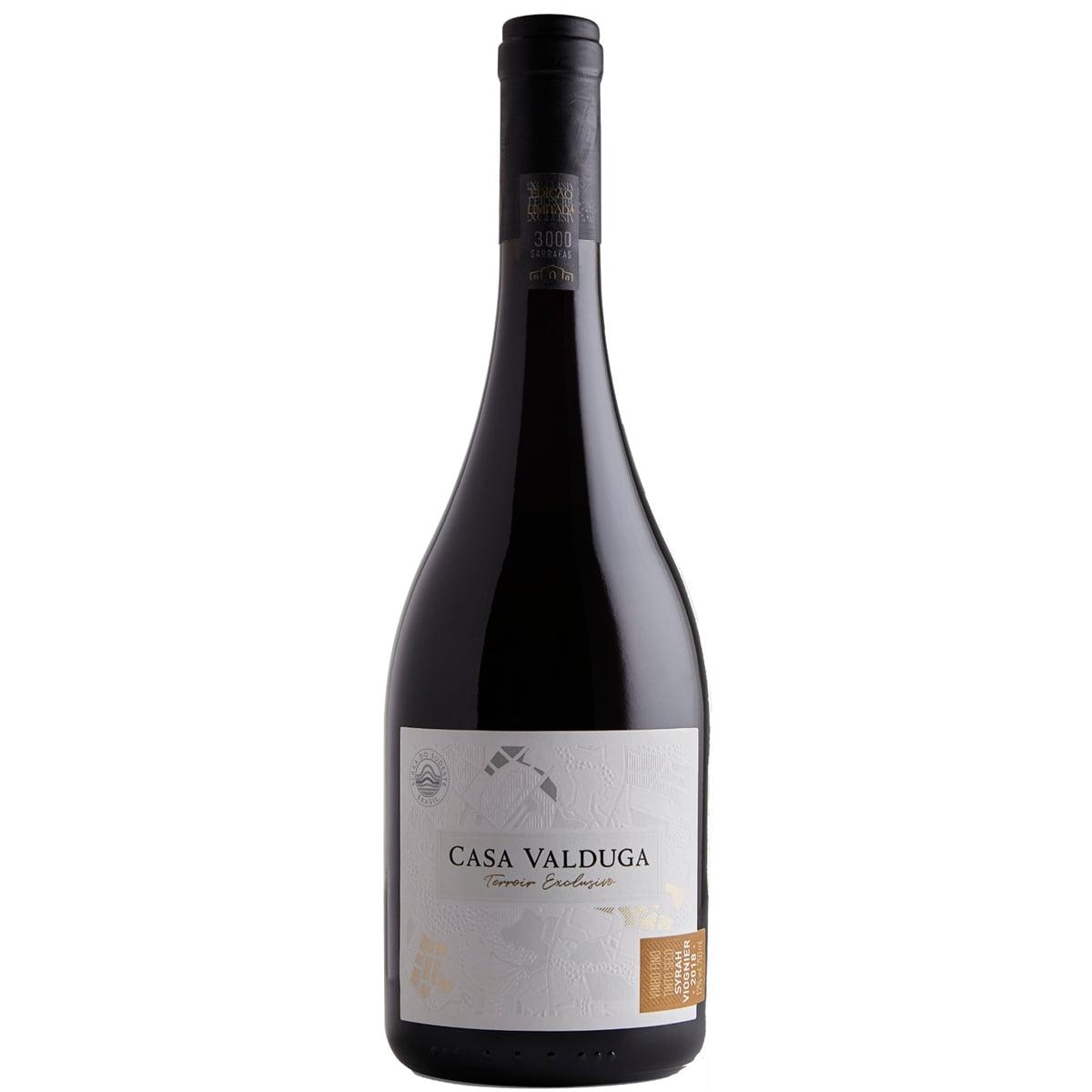 Vinho Casa Valduga Terroir Exclusivo Syrah/Viognier Tinto Seco 750ml