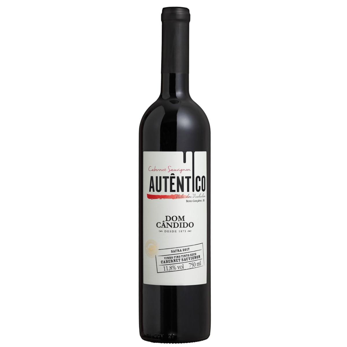 Vinho Dom Cândido Autêntico Cabernet Sauvignon Tinto Seco 750ml