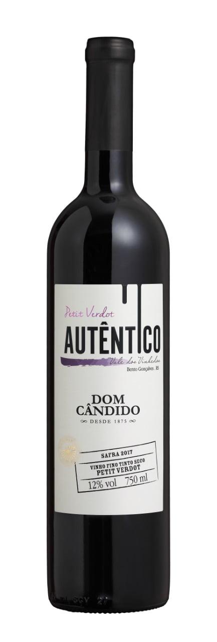 Vinho Dom Cândido Autêntico Petit Verdot Tinto Seco 750ml
